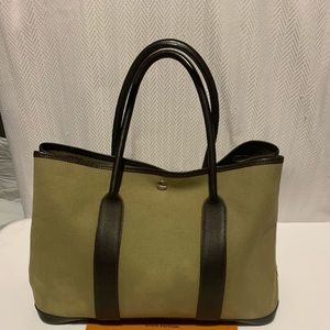 Hermes party garden tote